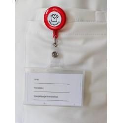 copy of Trzymak fioletowy - linka zwijana identyfikator - 1