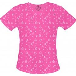 BOBAS bluza medyczna -Kolorowe bluzy medyczne we wzorki | SALUS-MED | Produkt Polski