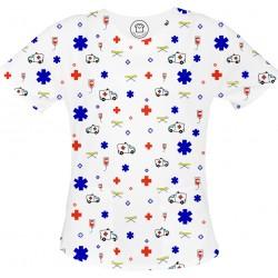 copy of FIT bluza medyczna -Kolorowe bluzy medyczne we wzorki Dietetyka| SALUS-MED |