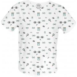 OKO NA MAROKO bluza medyczna -Kolorowe bluzy medyczne we wzorki | SALUS-MED | Produkt Polski