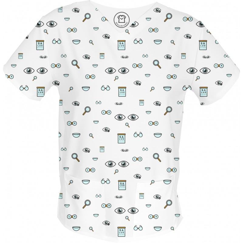 OKO NA MAROKO bluza medyczna -Kolorowe bluzy medyczne we wzorki   SALUS-MED   Produkt Polski
