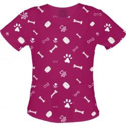 copy of WIELORYBY bluza medyczna -Kolorowa bluza medyczna we wzorki delfinki SALUS-MED