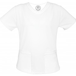 LENIWCE bluza medyczna -Kolorowe bluzy medyczna we wzorki | SALUS-MED | Produkt Polski